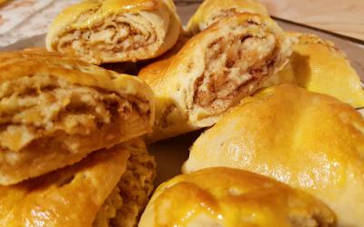 RECETTE : Roulés aux pommes et à la cannelle
