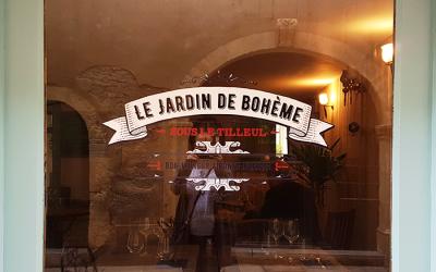 NIMES : Le Jardin de Bohème