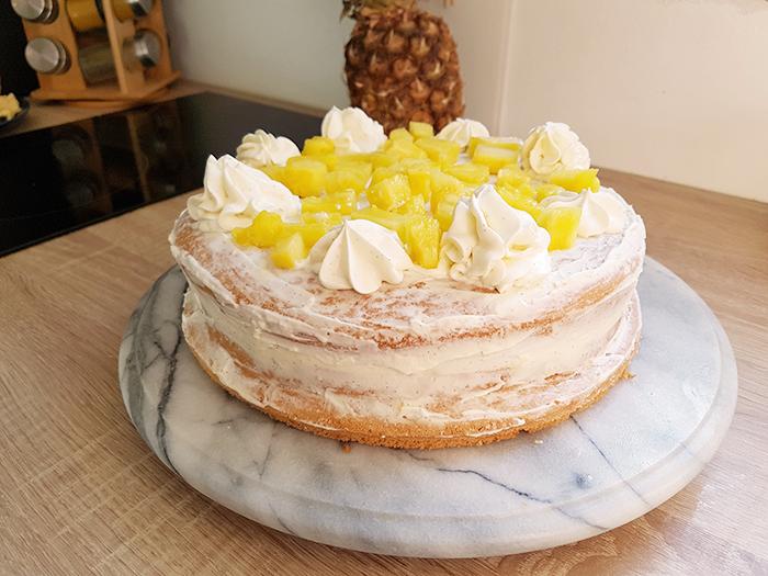 RECETTE : Le Nude Cake à L'Ananas