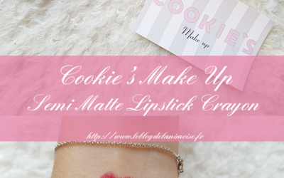JE TESTE : Cookies Make Up