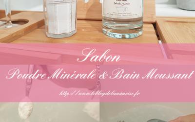 JE TESTE : Sabon et les produits pour le Bain