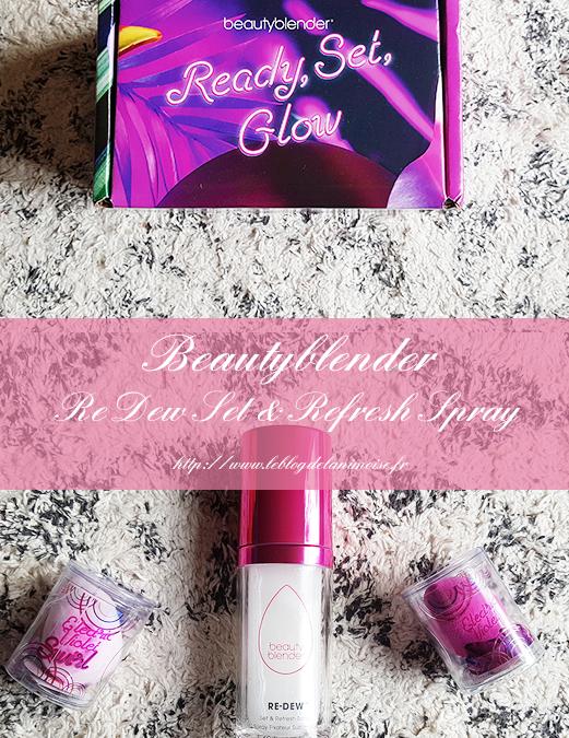 Re Dew Set & Refresh Spray de BeautyBlender