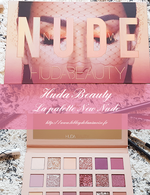 La palette New Nude de Huda Beauty