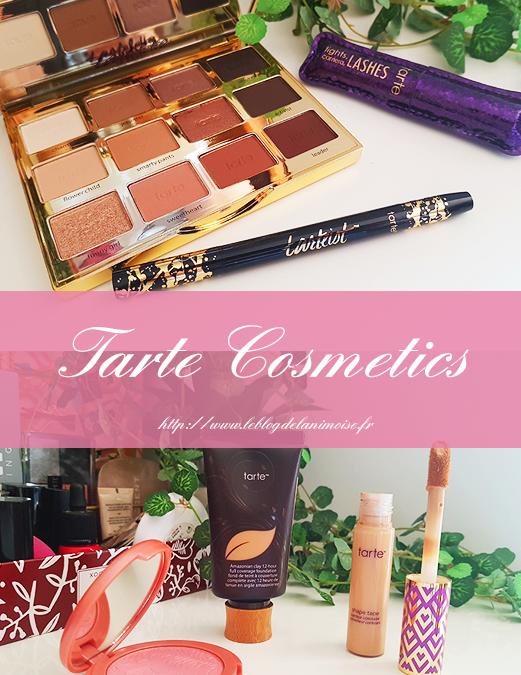 Je découvre Tarte Cosmetics