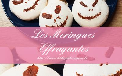 Recette Halloween : Les Meringues Effrayantes