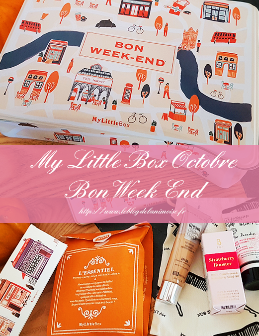My Little Box Octobre 2019 : Bon Week End