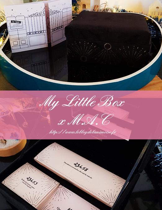 My Little Box x M.A.C : Décembre 2019