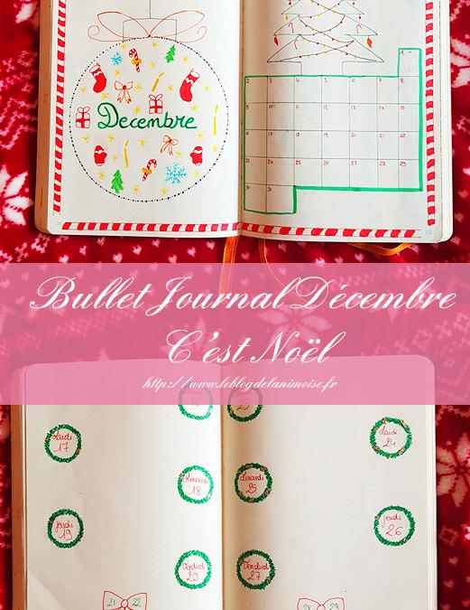 Bullet Journal Décembre 2019 : C'est Noël