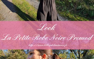 Look : La Petite Robe Noire de Promod