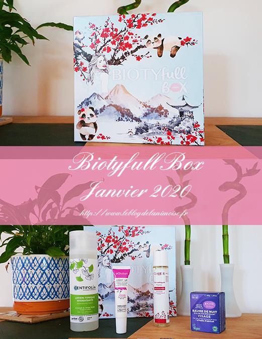 Biotyfull Box : La Panda Box de Janvier