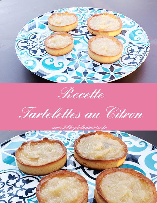 Recette : Les Tartelettes au Citron