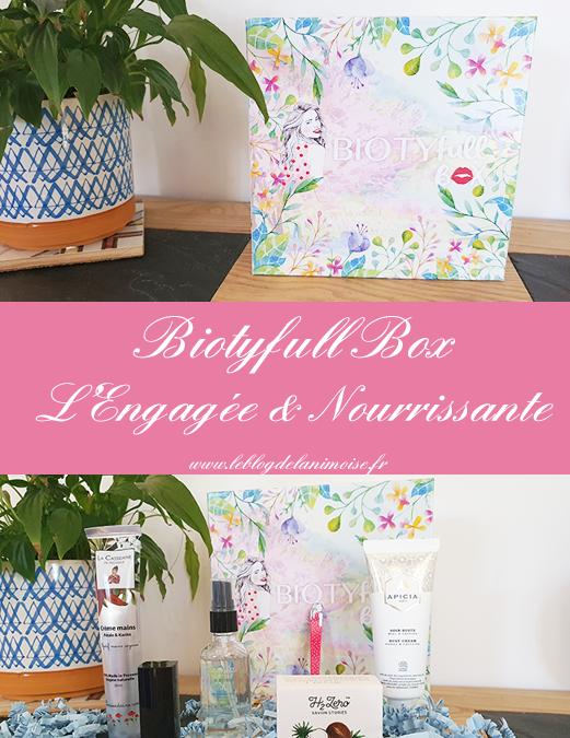 Biotyfull Box Mars 2020 : L'Engagée & Nourrissante