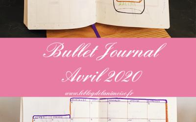 Bullet Journal : Avril 2020