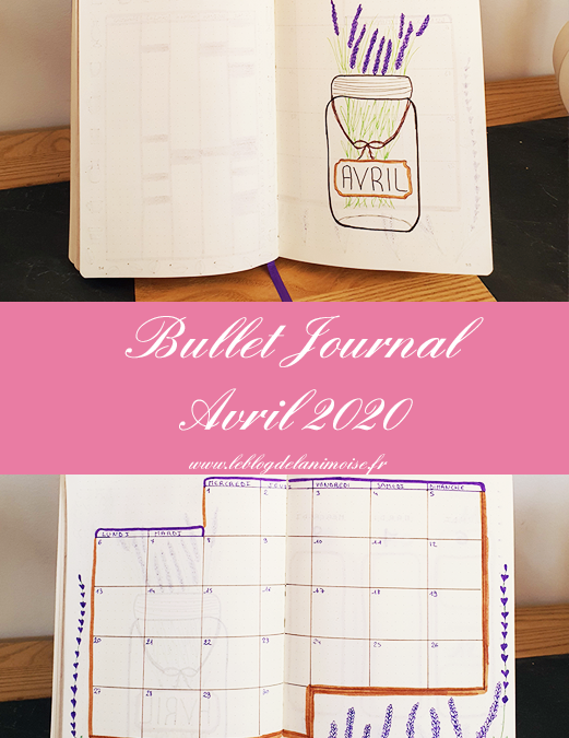Bullet Journal : Avril 2020