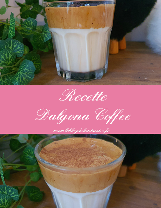 Recette : Dalgona Coffee