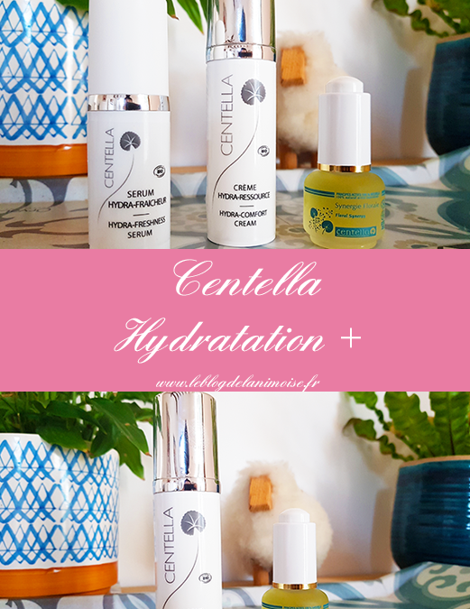 J'ai testé la gamme Hydration + de Centella
