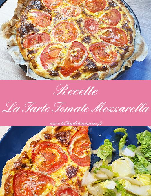 Recette : La Tarte Estivale Tomate Mozzarella