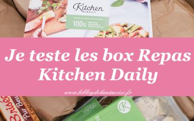 Je teste les box repas Kitchendaily