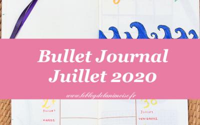 Bullet Journal : Juillet 2020
