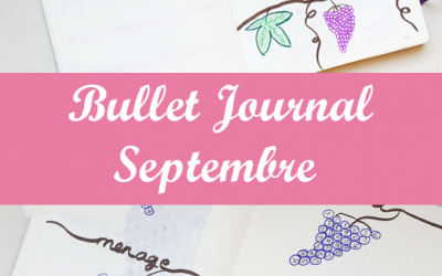 Bullet Journal : Septembre 2020