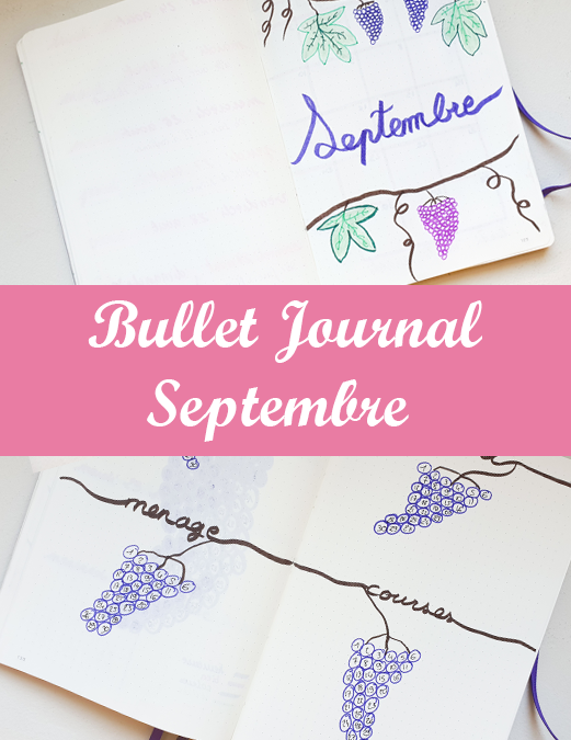 Bullet Journal : Septembre 2020
